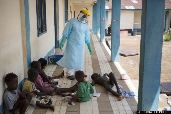 ebola children