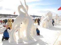 PHOTOS: Snow Sculpting And More Winter Fun In Lake Geneva
