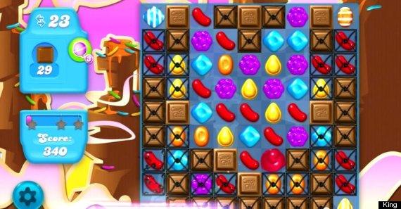 candy crush chocolate