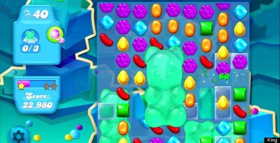 candy crush bear