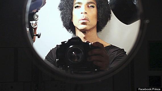 prince selfie
