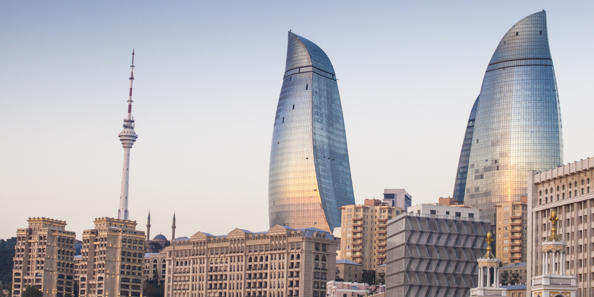 Baku Azerbaijan Walking The Crossroads Between Asia And