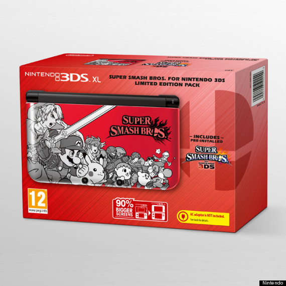 limited edition nintendo 3ds xl