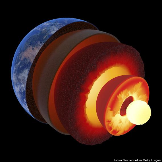 mantle crust earth