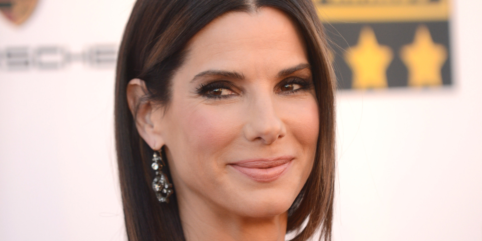 Sandra Bullock Goes Blonde On Set Of 'Our Brand Is Crisis' | The ... Sandra Bullock