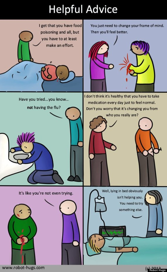 What If People Treated Physical Illness Like Mental Illness