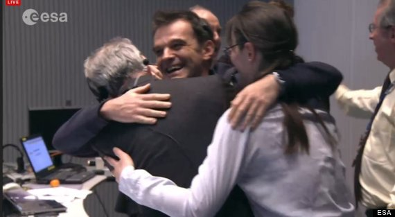'Rosetta' Comet Mission Makes History (LIVE UPDATES ...