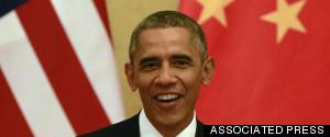 OBAMA CHINA CLIMATE 2014