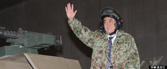 ニコニコ超会議2・戦車に乗る安倍首相