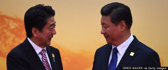 shinzo abe xi china