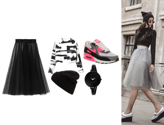 b18baddc Get some street-style cred with a beanie and chunky shoes. tulle street