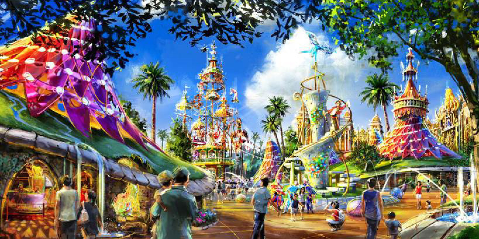 Image result for Theme Park