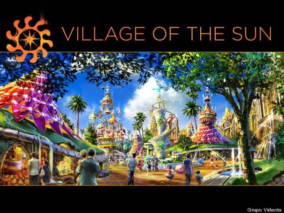 cirque du soleil theme park mexico