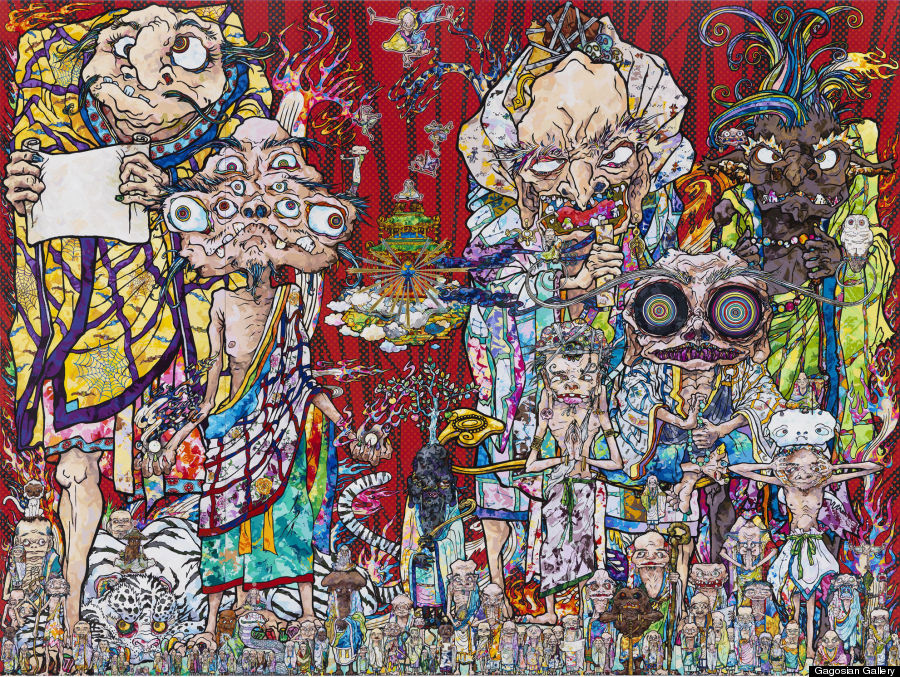 Takashi Murakami S Land Of The Dead Lives Up To Its