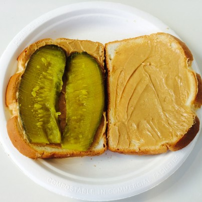 good or gross peanut butter and pickle sandwich huffpost. Black Bedroom Furniture Sets. Home Design Ideas