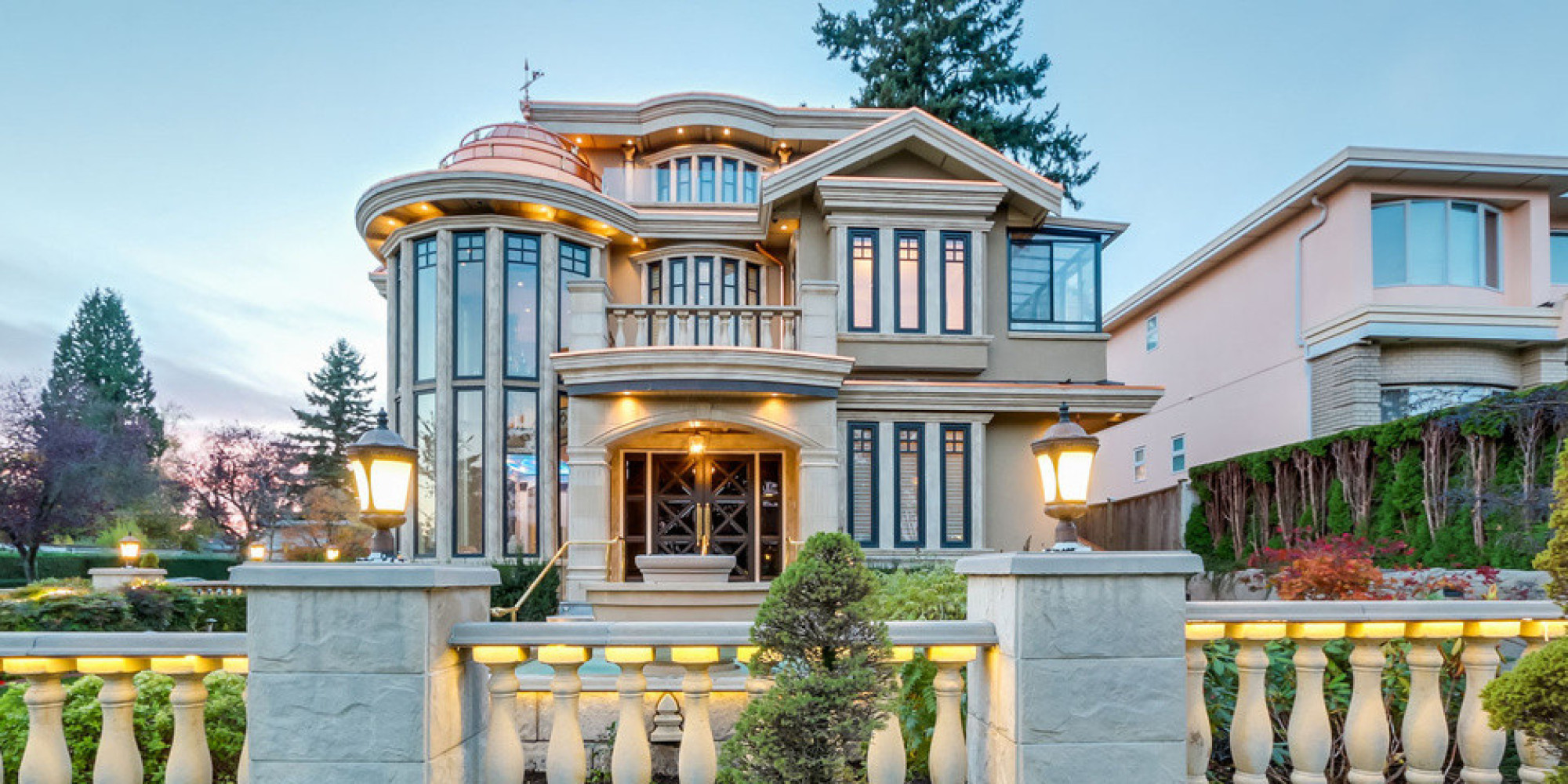 Vancouver Custom Built Mansion Is One Unique Home For Sale