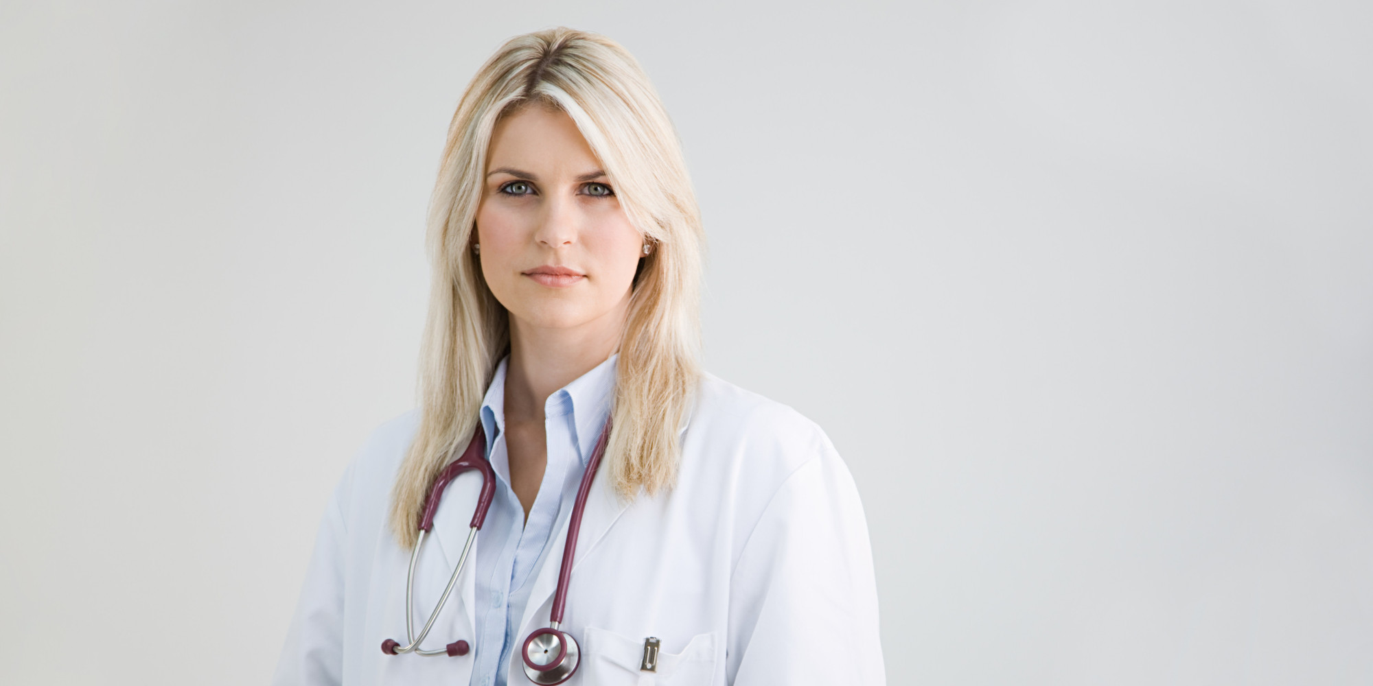 hot blonde doctor