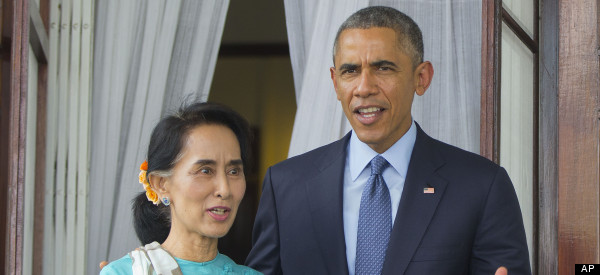 Obama, Suu Kyi Call For Greater Reforms In Myanmar