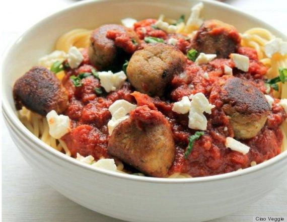 veggie meatball