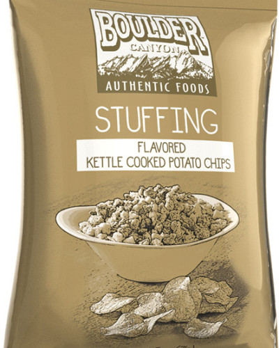 stuffing flavored potato chips