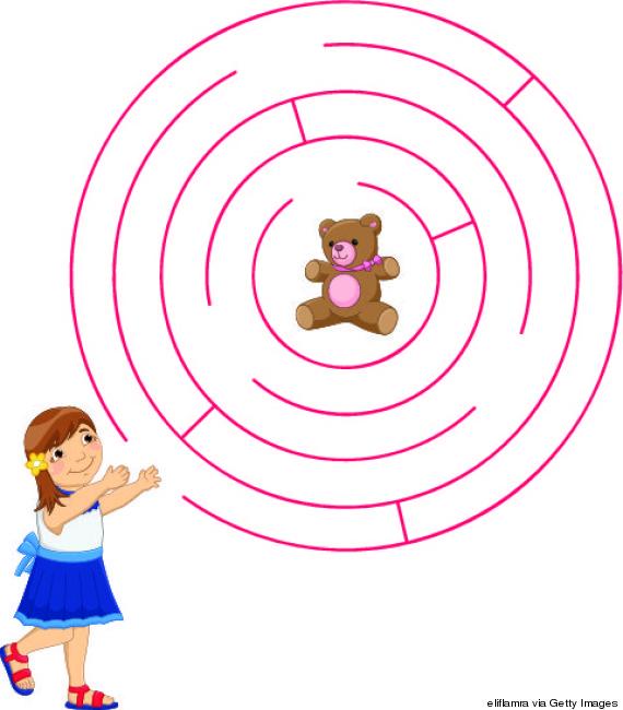 maze kids book