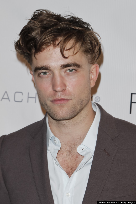 What Is Going On With Robert Pattinsons Hair Huffpost