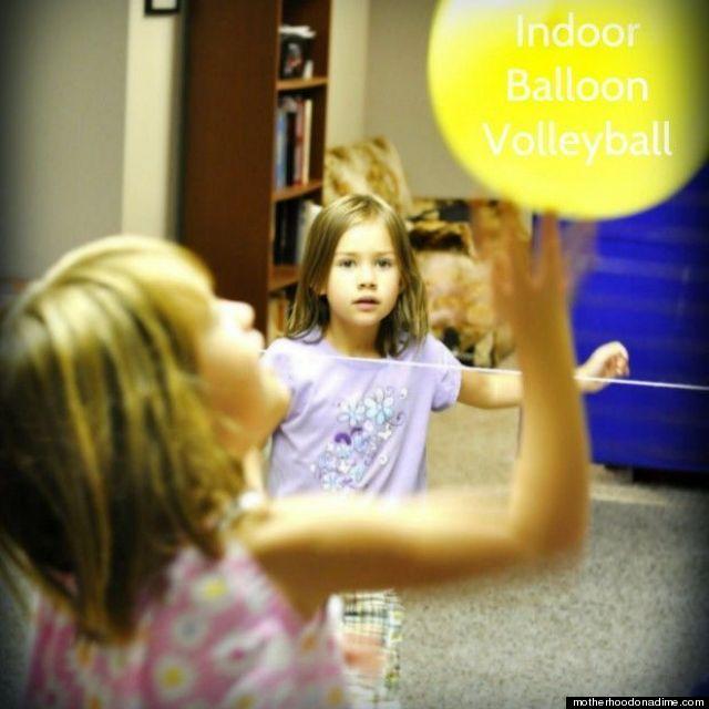 balloon volleyball