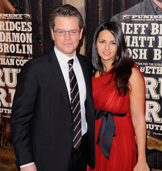 Matt Damon's Wife Luci...