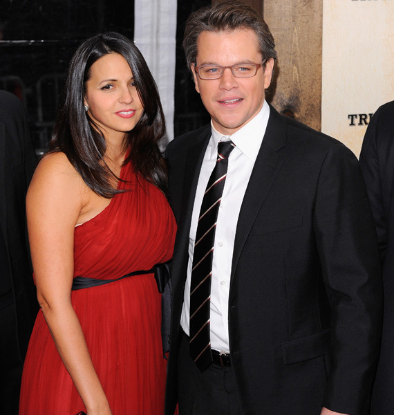 Matt Damon's Wife Luci...