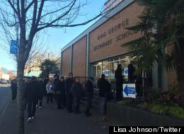 Vancouver Voters Pack Polling Stations Amid Tight Mayoral Race