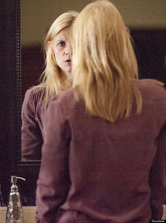 carrie in the mirror