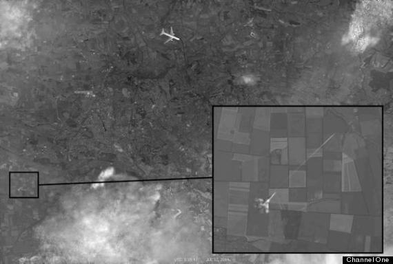 mh 17 satellite