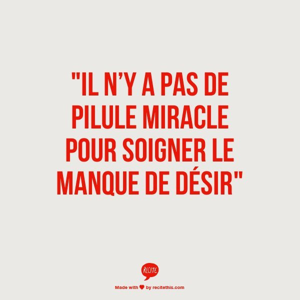 pilule miracle