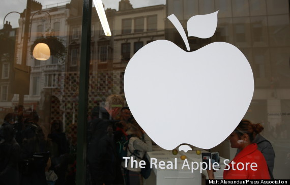 real apple sign
