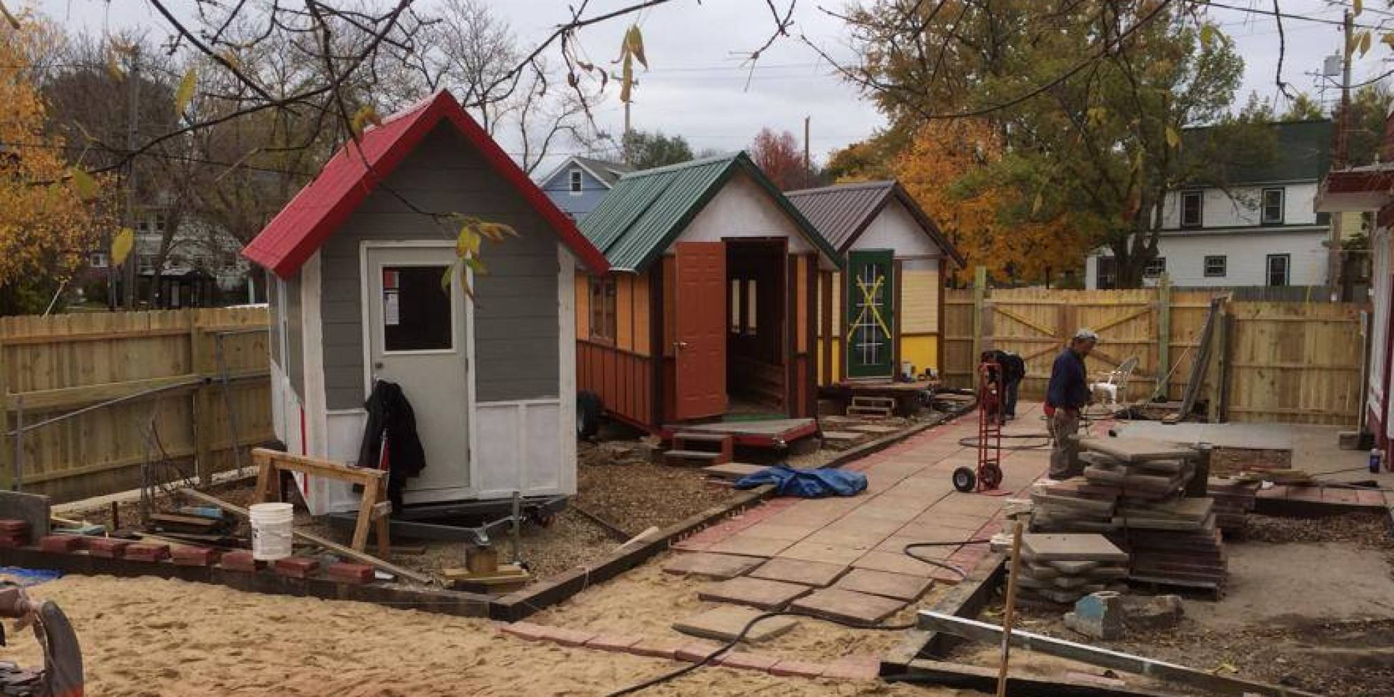 Astounding Tiny Houses For Homeless People Put Roofs Over Heads In Time For Largest Home Design Picture Inspirations Pitcheantrous