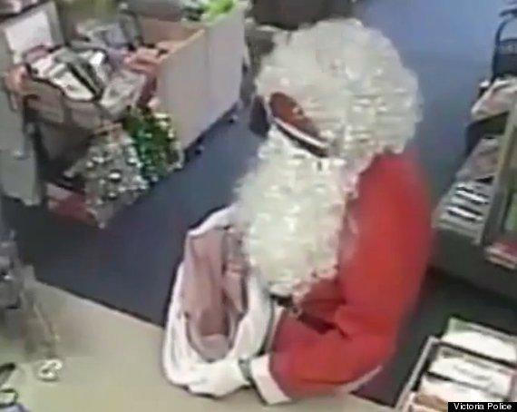 santa robs post office