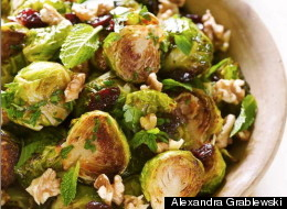 Dressing Up Roasted Brussels Sprouts For The Thanksgiving Table