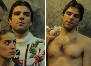 Zachary Quinto Before After