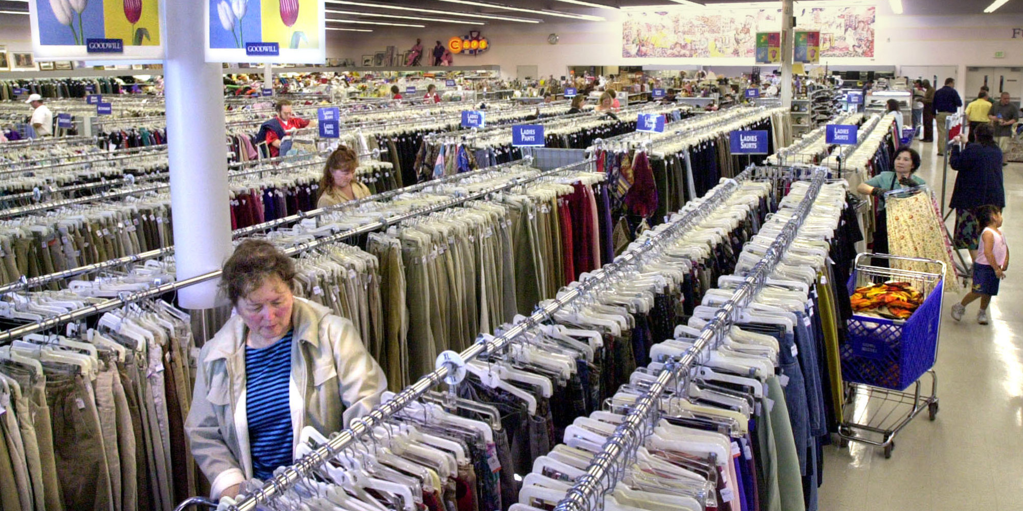 What stores buy used clothes
