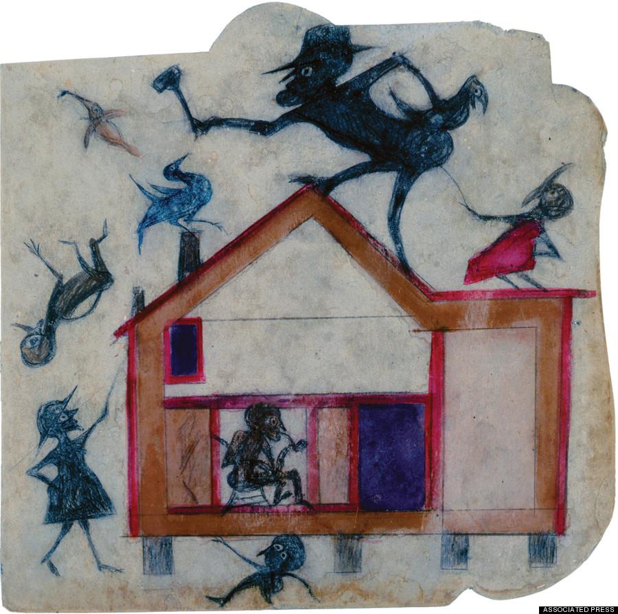 bill traylor art