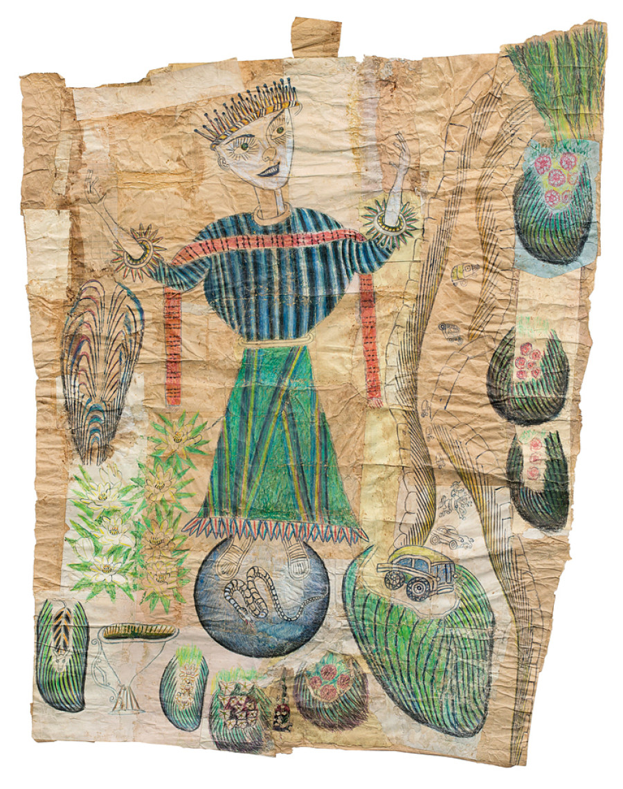 Wealthy Outsider Artist With >> 10 Outsider And Self Taught Artists Who Use Art To Create Their Own