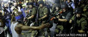 FERGUSON POLICE PROTESTERS