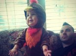 Babies Dressed As Turkeys On Thanksgiving