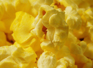 Popcorn Popping Slow Motion
