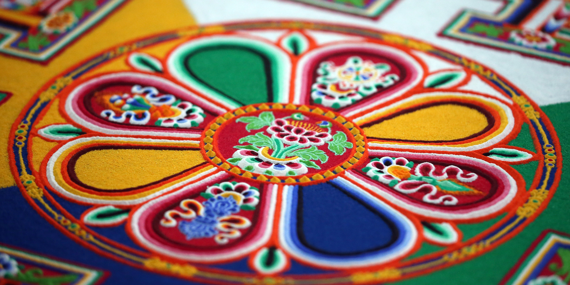 Get Up Close And Personal With This Impossibly Intricate Buddhist ...
