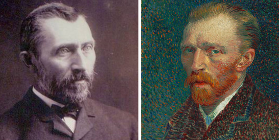 The Portrait At Right Is An Oil Painting By Van Gogh Completed Dec 31 1886 Photograph Left Was Also Taken In