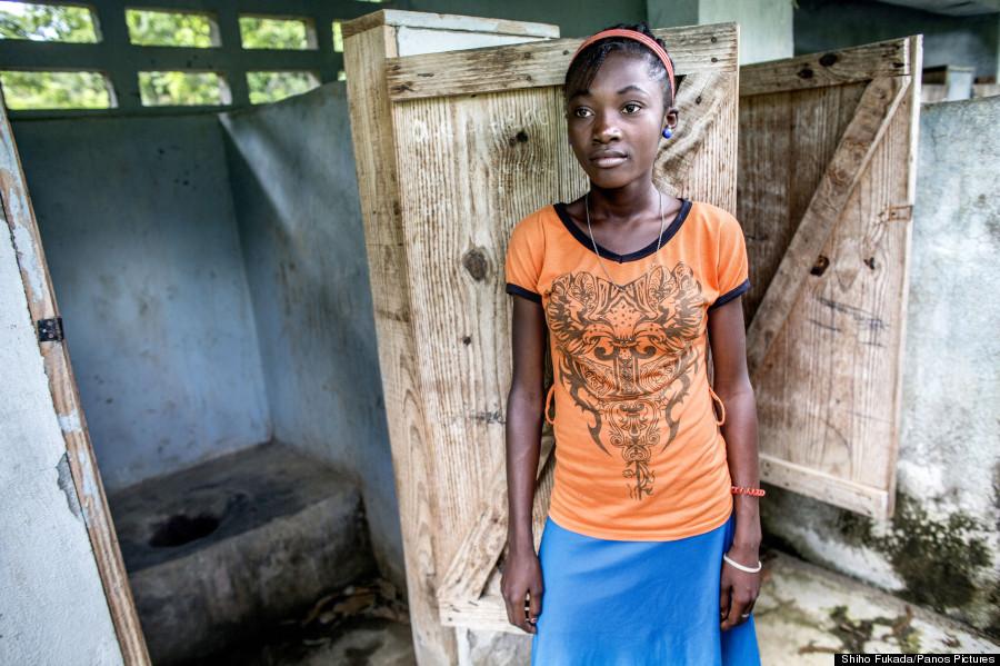 haiti toilets