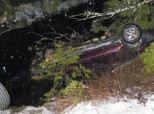 Bystander Jumps Into Freezing Water, Saves Baby Trapped In Overturned Car