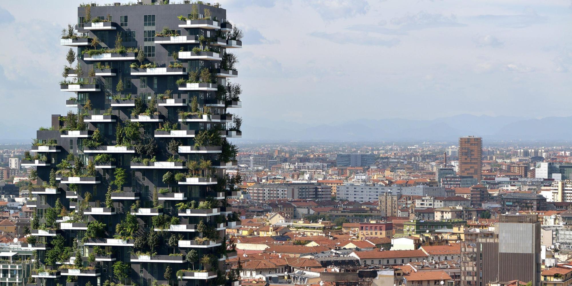 Il bosco verticale di stefano boeri vince il premio come - Giardino verticale madrid ...