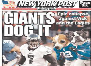 Michael Vick New York Post